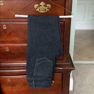 EUC Sonoma modern straight leg dark wash jeans
